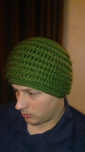 Every other row crochet hat