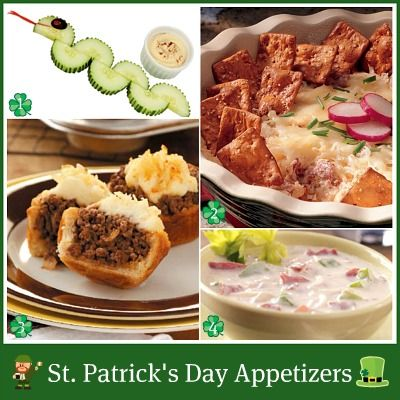 St.-Patricks-Day-Food: Food Appetizers, St. Patties, Courses Ideas, Maine Dishes, Food Ideas, Delicious Ideas, St. Patrick'S Day, St. Pattys, Dinners Ideas