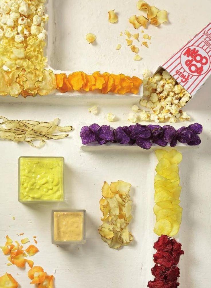 Knapperige chips van vergeten groenten http://www.njam.tv/recepten/knapperige-chips-van-vergeten-groenten