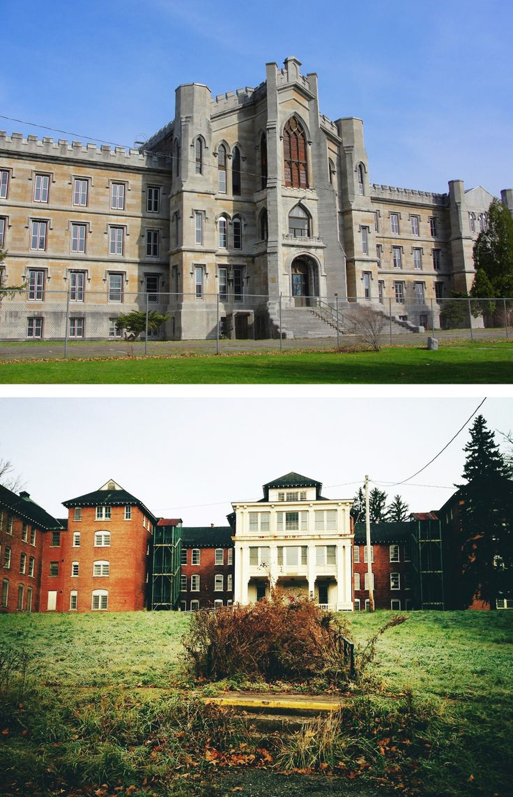 For people who like feeling spooky: go walk the grounds of the old Binghamton State Hospital. The building located at 425 Robinson St. began as an Inebriate Asylum in 1864. Most of it is abandoned now, but you can still go walking on the old roads and sidewalks and check out the amazing old buildings.