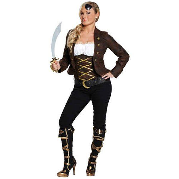 Piraat kostuum dames