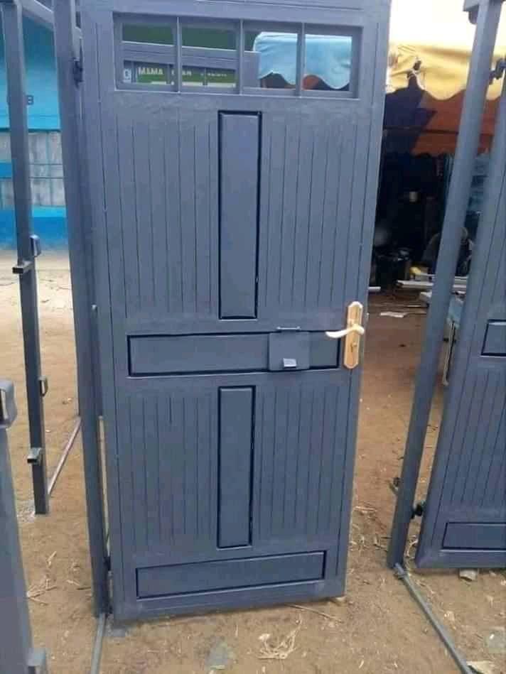 Steel Doors Kenya :Your Steel Welders & Fabricators.   Steel doors, Steel  door design, Steel furniture design