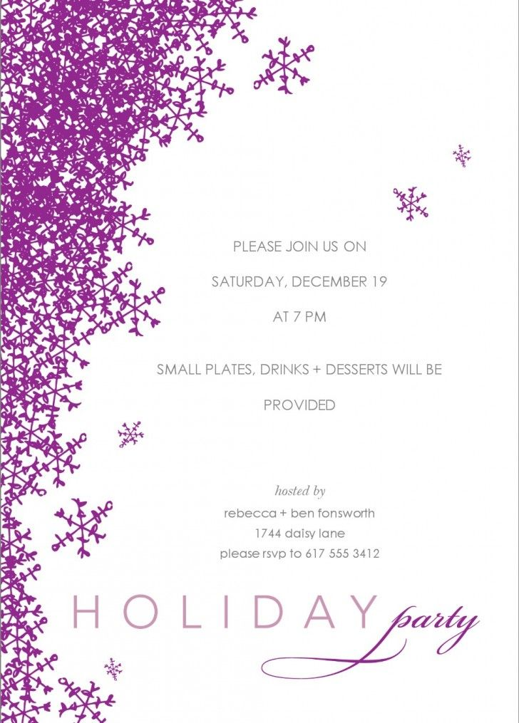 34 best Party Invitations images on Pinterest Party invitations - dinner invitations templates