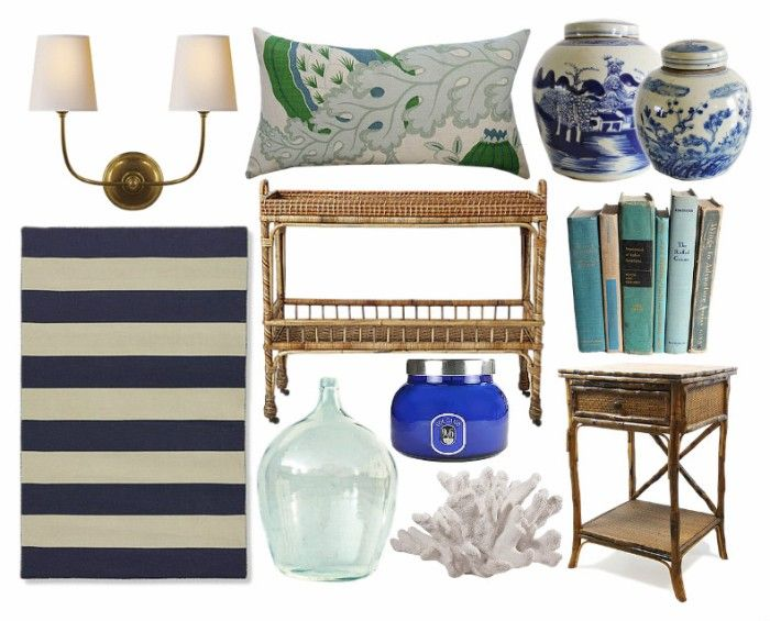 Seaside-inspired by Bungalow Blue Interiors