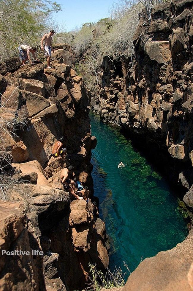 Las Grietas, Puerto Ayora, Isla Santa Cruz, Galápagos Ecuador