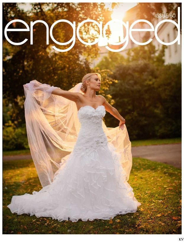 The beautiful bride I ENGAGED Wedding Magazine cover the gorgeous bride Jess whose wedding was not only featured in ENGAGED Wedding Magazine but this photo was the cover of the magazine.  It is always wonderful when our couples have their weddings featured in magazines from around the world. One of my favorite couples from last year  Jess & James  whose wedding here in Prague was featured not only in  Engaged Wedding Magazine!