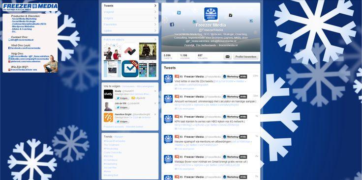 Wil jij ook op de hoogte blijven van alle ontwikkelingen binnen de Online- & Social Media Marketing?  Volg ons dan ook op Twitter: http://buff.ly/1ehI7oV | #smm #twitter