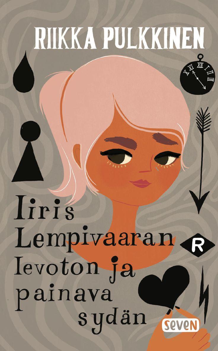 Title: Iiris Lempivaaran levoton ja painava sydän | Author: Riikka Pulkkinen | Designer: Sanna Mander