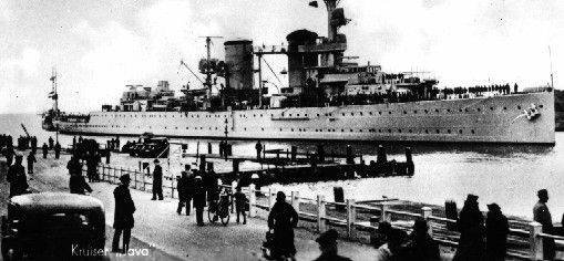 Dutch light cruiser Java - sunk in February 1942 as part of the ill fated ABDA (American, British, Dutch, Australian) command when the Japanese were carrying all before them in the early stages of the war in the Far East.