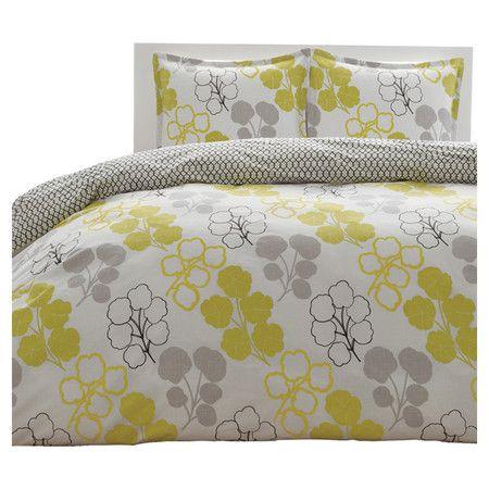 pressed flower comforter set