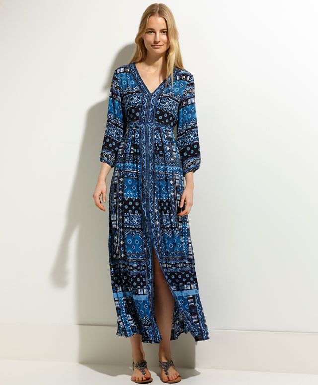 Robe imprimé foulard - OYSHO