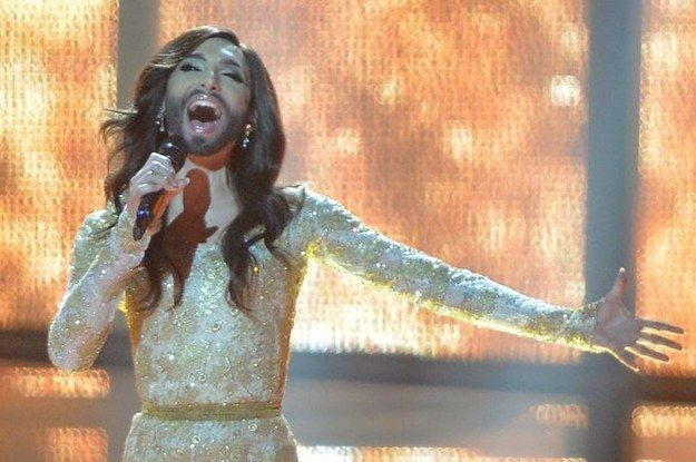 24 Ways Conchita Wurst Stole Everyone's Hearts At Eurovision