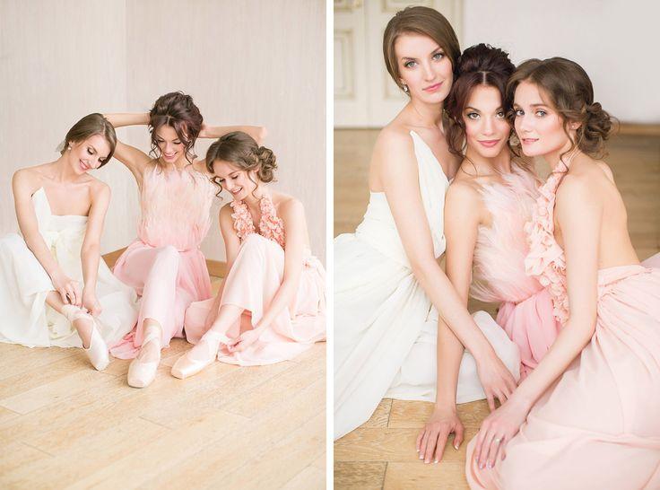 Ethereal Ballet Wedding Inspiration | Beautiful russian ballerinas | балерины | балет | свадьба http://svetamart.ru/wedding/gallery/wedding-look/
