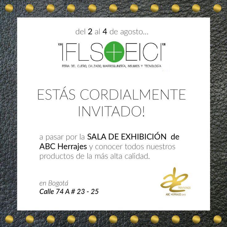 ABC Herrajes te invita a venir. Ven a nuestra sala de exhibición de productos, para que puedas antojarte y conseguir los mejores herrajes, para hacer de tus productos los mas exclusivos del mercado. Nos puedes encontrar en:  #Bogota: Calle 74A # 23-25 / Tel: 2115117  #Medellin: Diagonal 74B # 32-133 / Tel: 3412383  #Barranquilla: Cra 52 # 72-114 C.C. Plaza 52 / Tel: 3690687 Visítanos en: www.abcherrajes.com #Estilo #Moda #Marroquineria #Luxury #Ironworks #Bags 