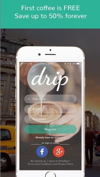 DripApp - Coffee. Unlimited. by FivePanda Technology Ltd