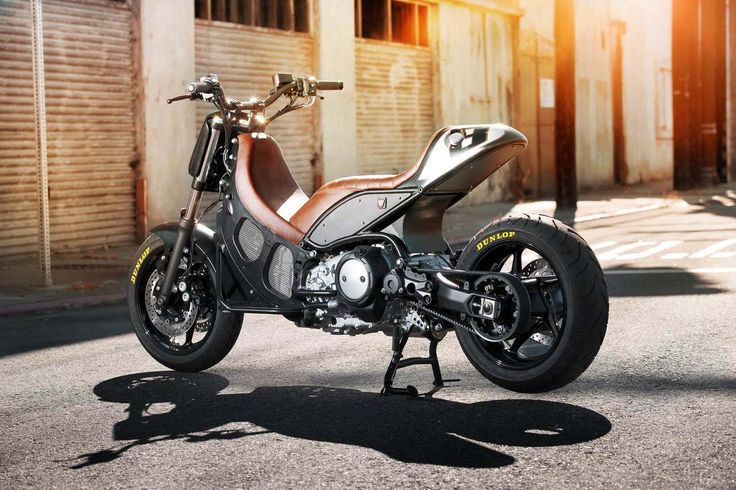 You may still think scooters are for girls, but this hyper-modified 2012 Yamaha TMax 530 by Roland Sands may change your mind.
