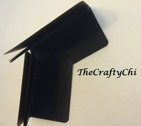 This blank BLACK paper insert for your Travelers Notebook ( Or used separately!) is a sturdy 24lb paper made for all your pen needs. There is a total of 48 pages. These also could be just thrown in your bag, if you dont use a Travelers Notebook!  We have many sizes to choose from Standard/Regular, Cahier/Wide, A6, B6, B6 Slim, Personal, Field Note, Passport  Printed on 24lb premium paper. Over a dozen cover color options. NEW Fall Cover Colors - Brick Gold Olive Rust **INTERNATIONA...