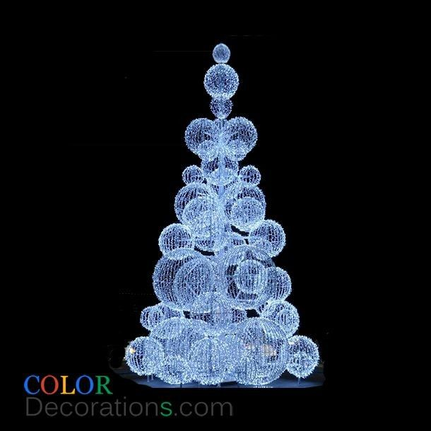 17 best images about led lighted christmas trees on for Led outdoor christmas ornaments
