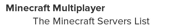 Minecraft servers list