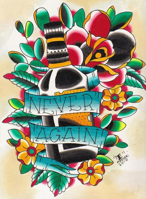 tattoo flash #traditional tattooTraditional Tattoos, Sober Tattoo, Tattoo Flash, Tattoo Design, A Tattoo, Tattoo Art, Flash Tattoo, Sobriety Tattoo, Flash Traditional