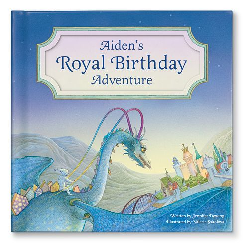 NEW! My Royal Birthday Adventure personalized storybook. Available at www.iseeme.com personalized with the birthday boy's name!