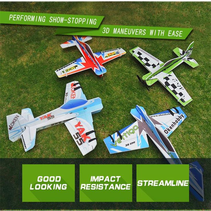 Wholesale Great Oken EPP Foam RTF Version F3P 3D Aerobatic RC Airplanes for Indoor Flying Competition with CCC Approved