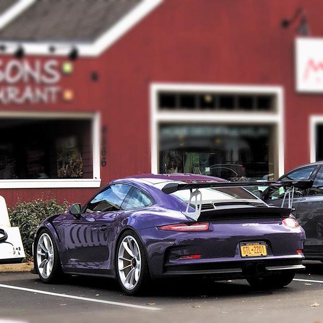 "Someday I'll have an insta called ""issapurpleporsche""... someday . . . . . #subaru #wrx #sti #wrb #subie #subiefest #subieflow #subiebros #porsche #porscheclub #gt3rs #purple #racecar #carsandcoffee #cars"
