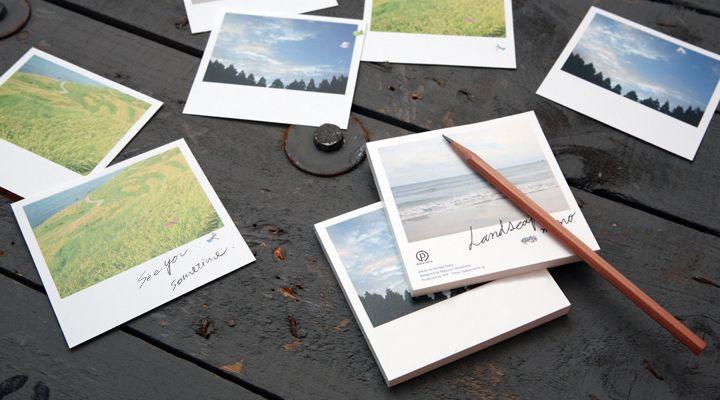 Landscape memo by YKP. Illustration and photo by Nohagi Naka.