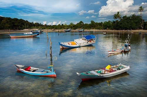 Fishing Village in Belitung Island