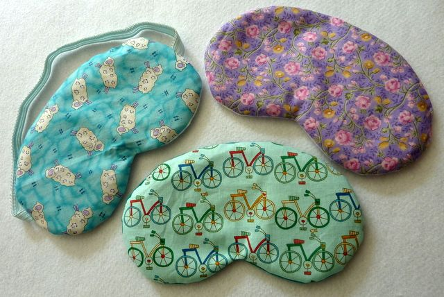 make it yourself: lavender sleep mask FREE pattern Lori Miller Designs