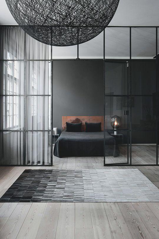 King's Lair | by Casa Italia #bedroom #decor #design #luxury #modern #grey
