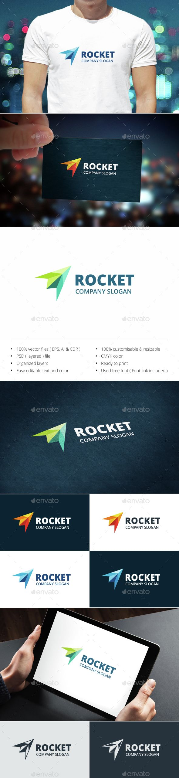 Rocket Logo  #application #apps #audio #$30