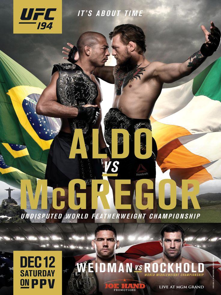 Ufc 168 Fight Poster 227 best UFC PPV Poste...