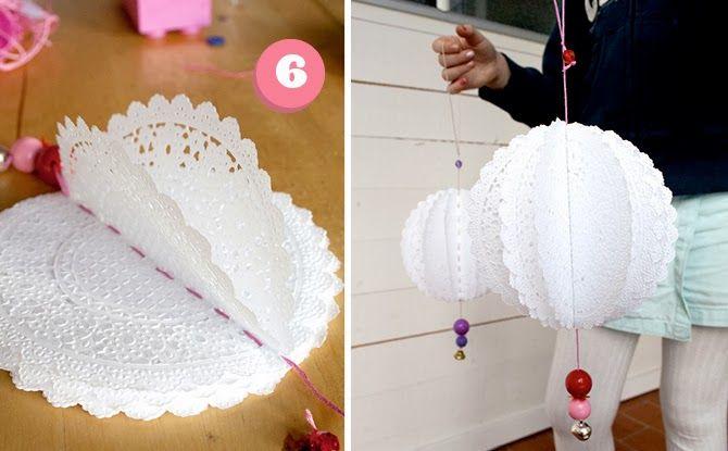 Ma Papeterie kawaii - Le blog: DIY - Des napperons en papier pour décorer