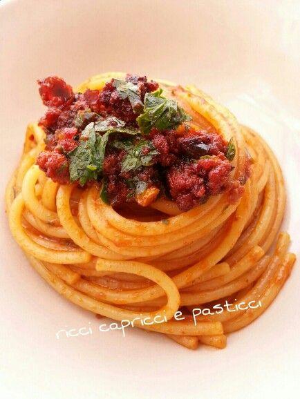 Spaghetti con nduja!