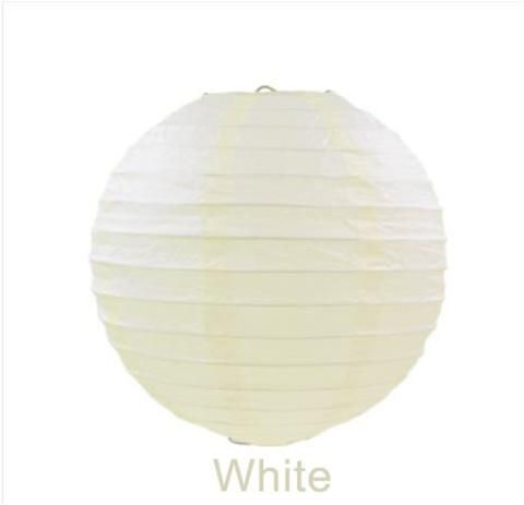 [EBay] 10Pcs 30Cm Round Chinese Paper Lantern Birthday Paper Lanterns For Wedding Party Decoration Gift Craft Diy Wholesale Retail