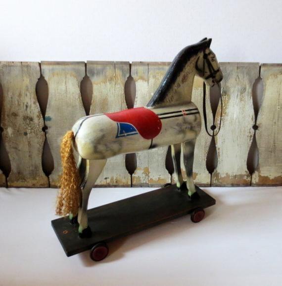 Pin On Houten Paarden