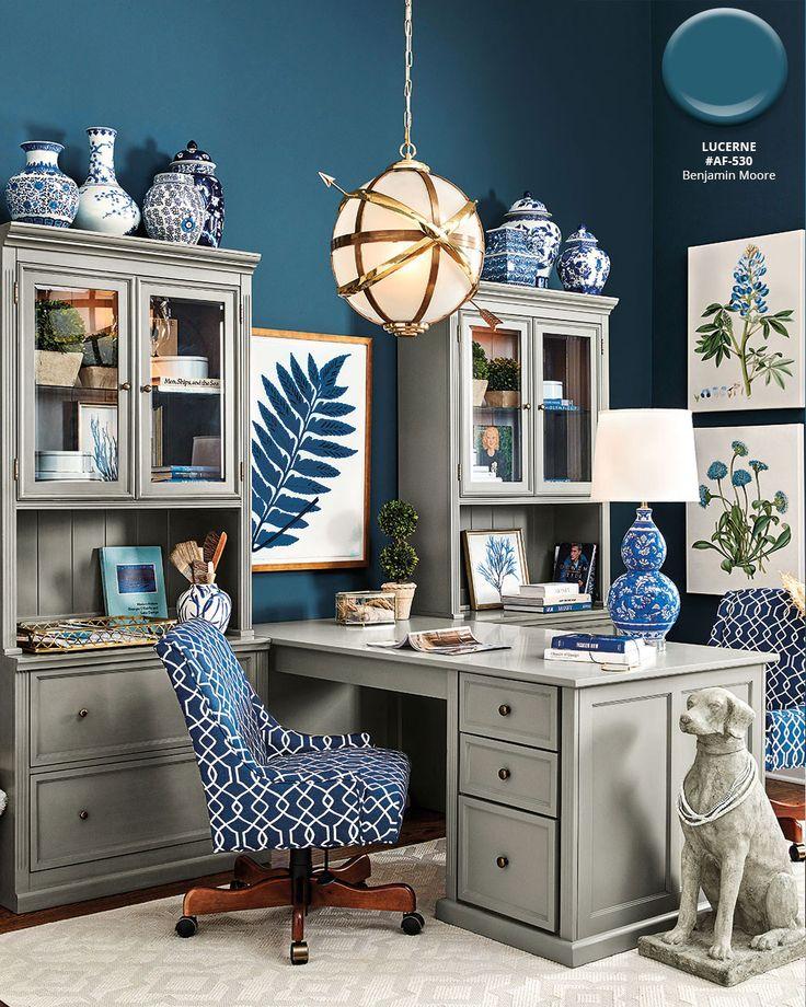 Home Office With Ballard Designs Furnishings Benjamin: Ballard Designs Spring 2018 Paint Colors