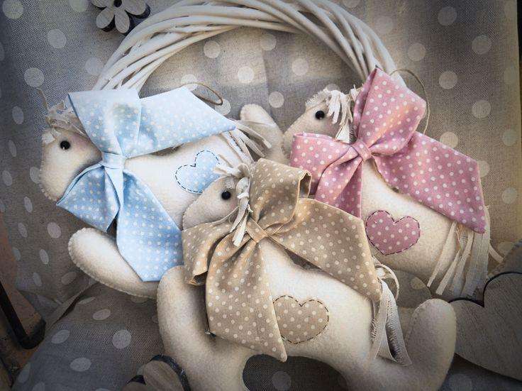 Idea regalo,fiocco nascita.