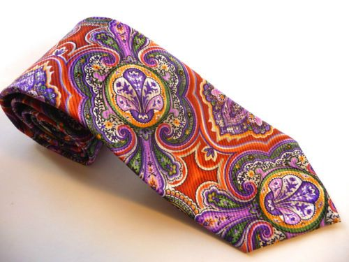 NEW-Robert-Talbott-Seven-7-Fold-tie-285-Retail-new-with-tags