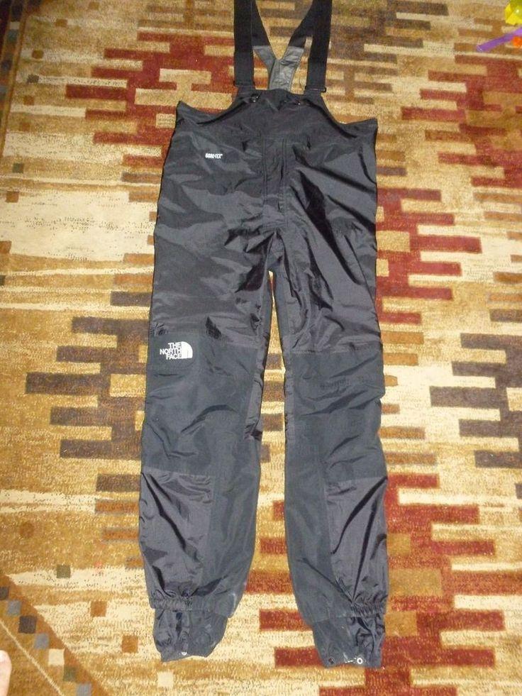 """The North Face Gore-Tex Mens Ski Pants Trousers Bibs Bib 32"""" Inseam sz XL #TheNorthFace"""