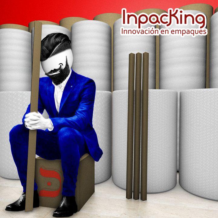 Lo que necesitas de material de #Empaque y #Embalaje, lo encuentras en http://inpacking.com.mx  #esquineros #carton #burbuja #polyfoam #etc