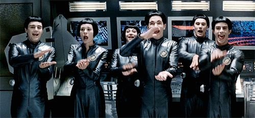 Galaxy Quest - clapping
