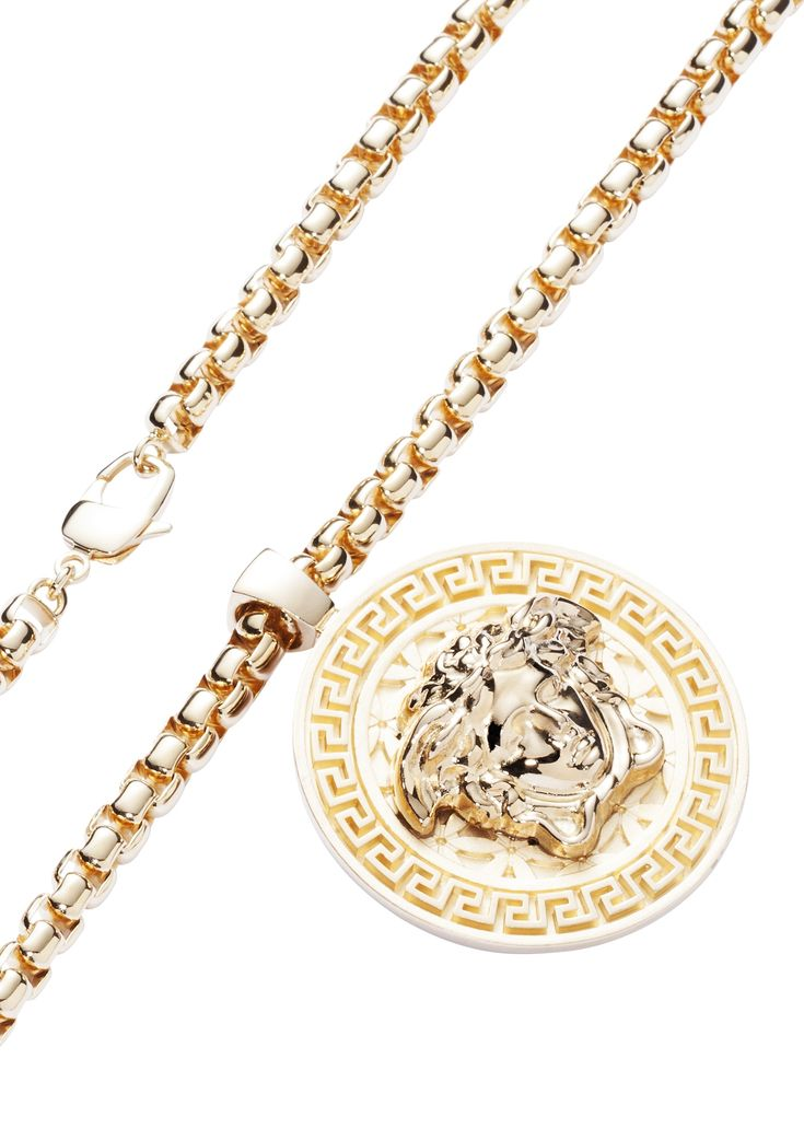 Medusa Necklace #Versace #VersaceJewellery #VersaceMenswear