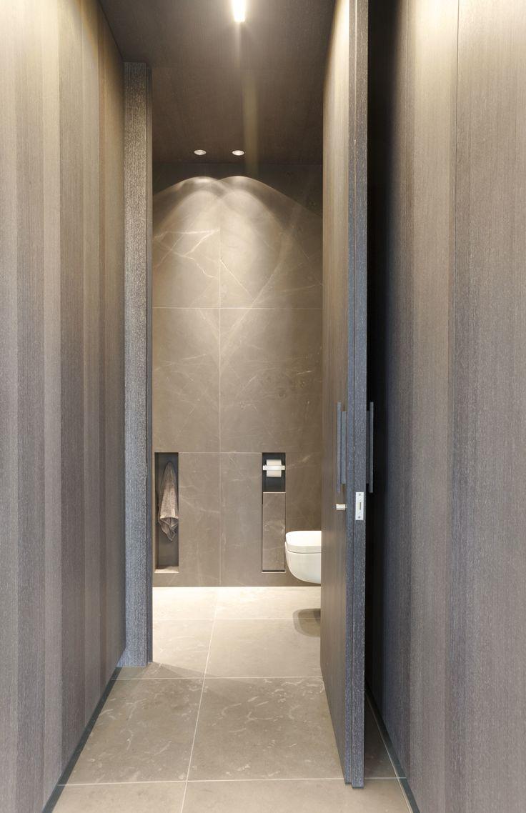 Mooi voorbeeld dat kleur en materiaal gebruik in zijn eenvoud stijlvol kan zijn.