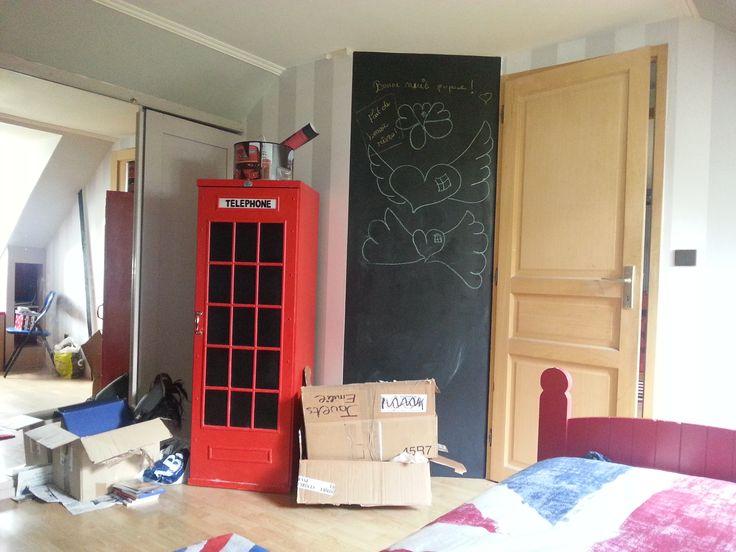 9 best Chambre london images on Pinterest Bedrooms, My daughter - peindre avant de tapisser