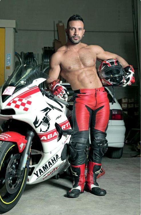 Biker gay porn