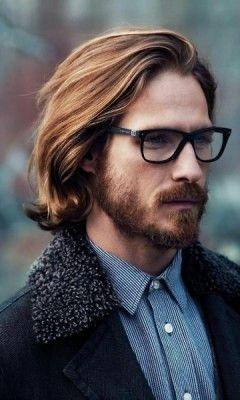 прически для мужчин с длинными волосами