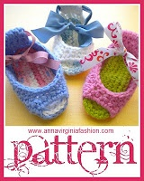 AnnaVirginia Fashion: Piggy Peeps Baby Shoes *Pattern*