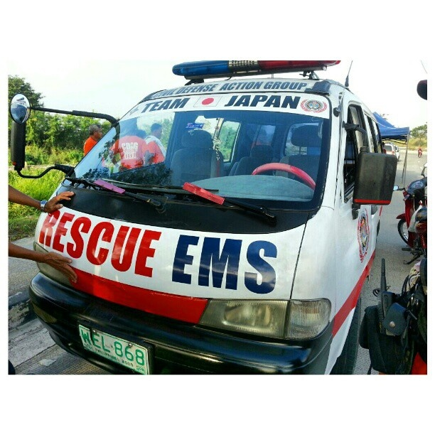 #救急車 #ambulance #special #operation for #funrun #marathon #filipino#japanese#emergency#response#firefighter#volunteer#ems#rescue#philippines#フィリピン#ボランティア